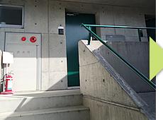 北野885整骨院は階段すぐ